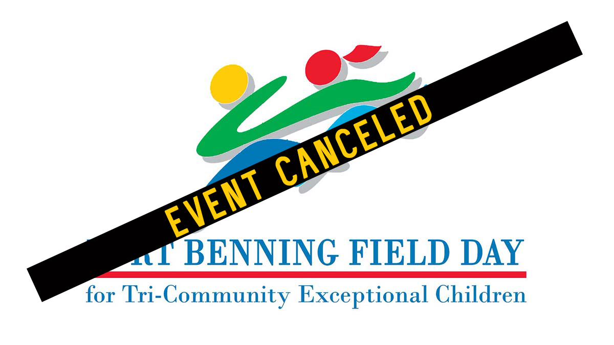 Fort Benning Field Day for Tri-Community Exceptional Children: CANCELED