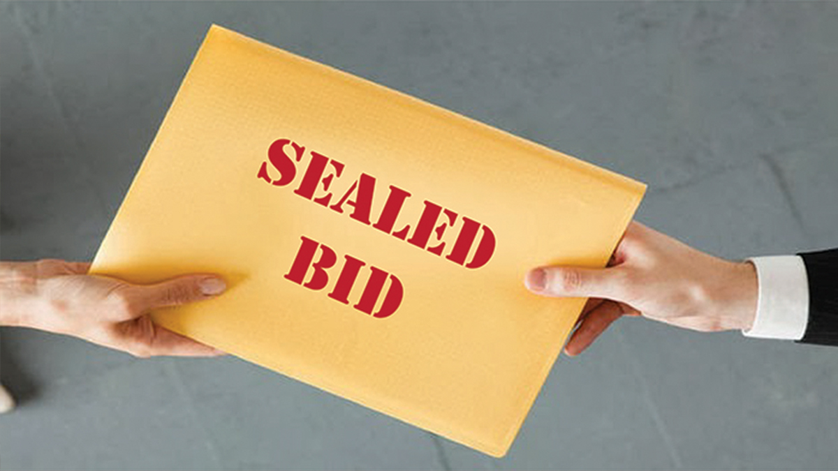 Sealed Bid Sale and Ready to Purchase Items