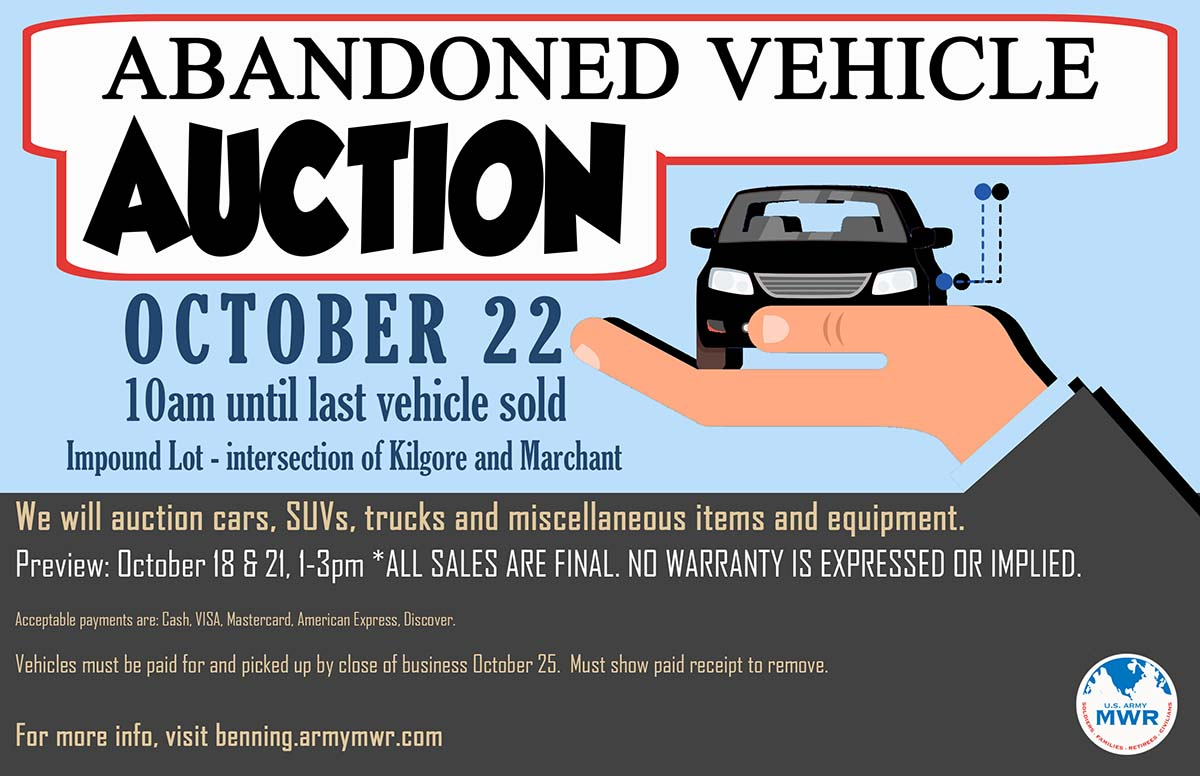 Abandoned Vehicle Auction
