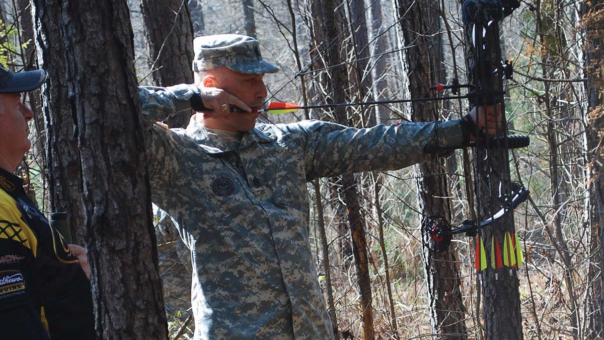 Fort Benning Archery Shoot Competition