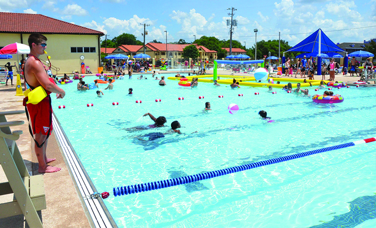 MWR Outdoor Pools