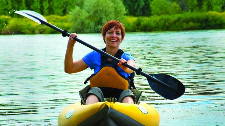 Kayak the Chattahoochee River