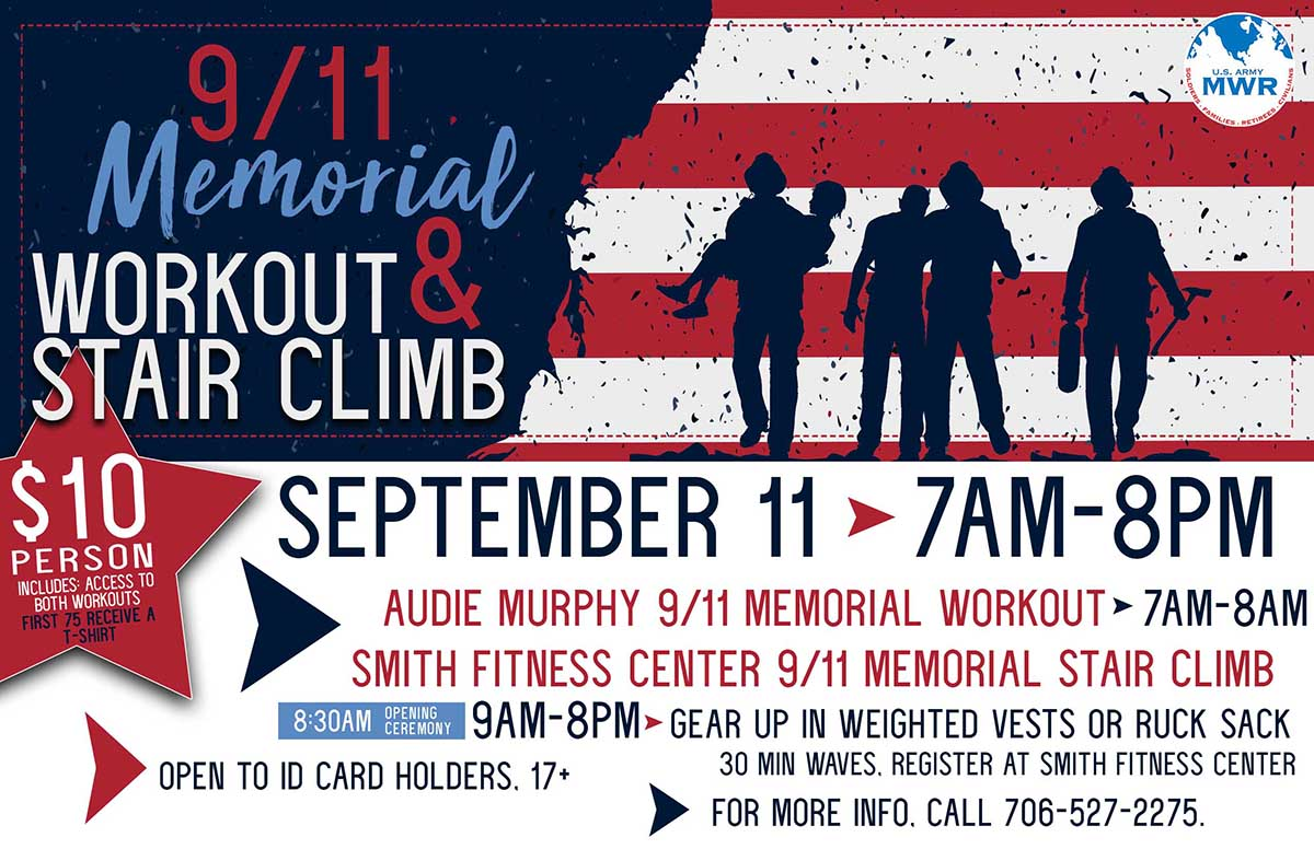 9/11 Memorial Workout and Stair Climb