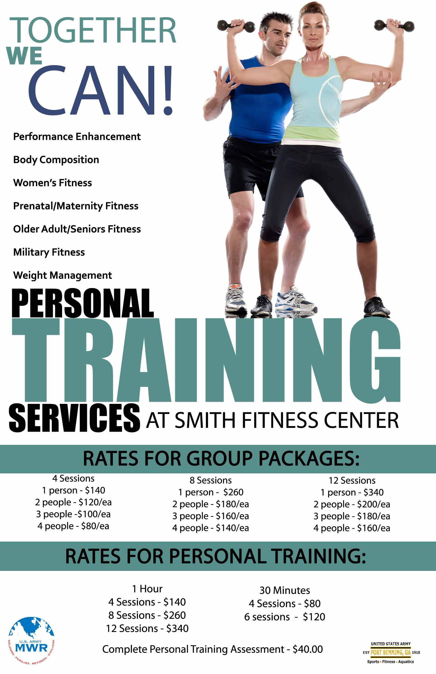 Fort Benning Fitness Centers and Gyms