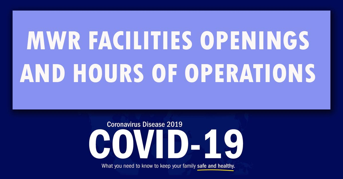 Facility Openings and Hours of Operations