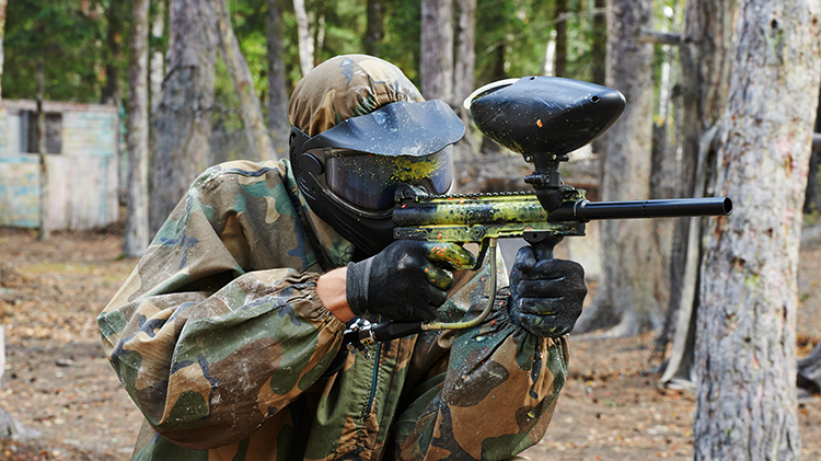 Paintball in the Woodlands