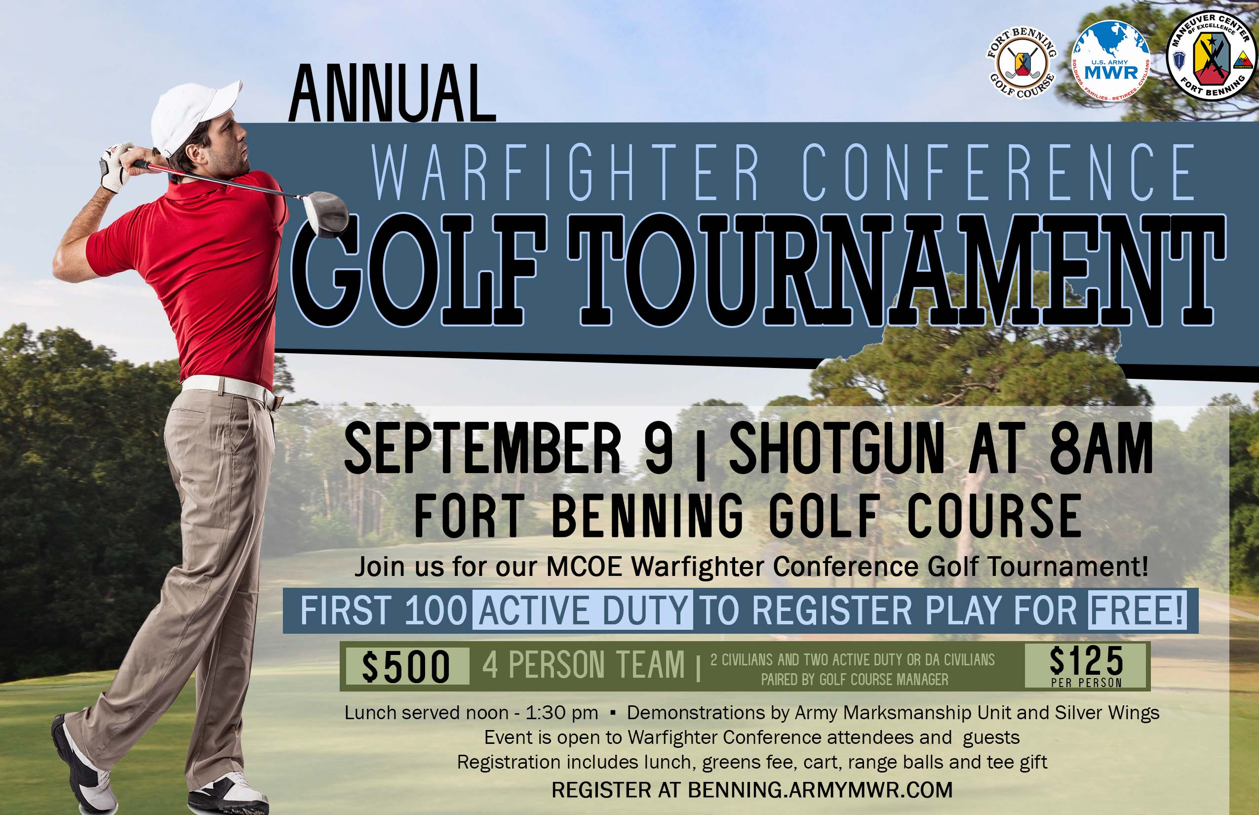 Warfighter Conference Golf Tournament