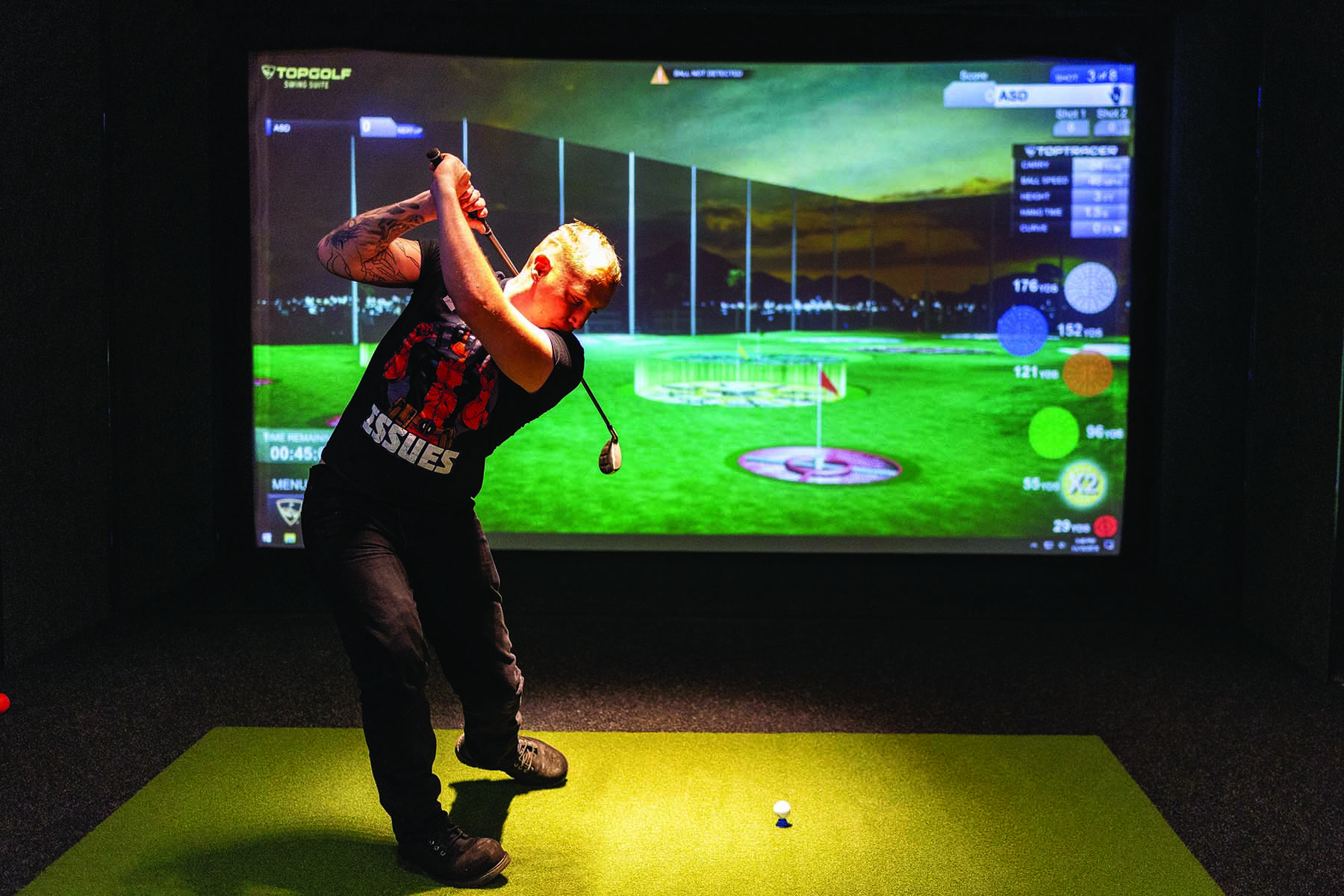 Main Post Rec Center Topgolf Swing Suite and Virtual Reality