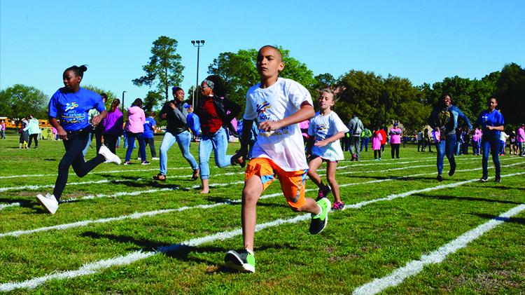 Field Day for Tri-Community Exceptional Children